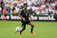Neil Taylor of Wales in action.Euro 2016, group B , England v Wales at Stade Bollaert -Delelis  in Lens, France on Thursday 16th June 2016, pic by  Andrew Orchard, Andrew Orchard sports photography.