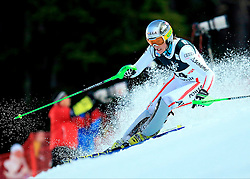 04.01.2013, Crveni Spust, Zagreb, AUT, FIS Ski Alpin Weltcup, Slalom, Damen, 1. Lauf, im Bild Nicole Hosp (AUT) // Nicole Hosp of Austria in action during 1st Run of the ladies Slalom of the FIS ski alpine world cup at Crveni Spust course in Zagreb, Croatia on 2013/01/04. EXPA Pictures © 2013, PhotoCredit: EXPA/ Pixsell/ Slavko Midzor..***** ATTENTION - for AUT, SLO, SUI, ITA, FRA only *****