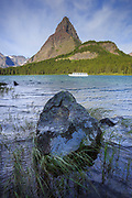 Swiftcurrent Lake, Glacier National Park, Montana