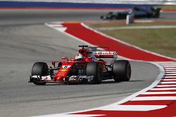 October 22, 2017 - Austin, United States of America - Motorsports: FIA Formula One World Championship 2017, Grand Prix of United States, ..#5 Sebastian Vettel (GER, Scuderia Ferrari) (Credit Image: © Hoch Zwei via ZUMA Wire)