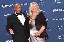 February 18, 2019 - Monaco, Monaco - Marvin Hagler arriving at the 2019 Laureus World Sports Awards on February 18, 2019 in Monaco  (Credit Image: © Famous/Ace Pictures via ZUMA Press)