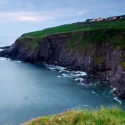 View of cliff ner Dunquin, Ireland