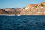 Boating near Isla Espiritu Santo, La Paz, BCS, Mexico; Jan 2010