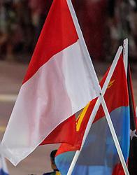 21-08-2016 BRA: Olympic Games day 22, Rio de Janeiro<br /> Rio neemt afscheid van de Olympische Spelen, sluitingsceremonie met veel dans, muziek en saaiheid / Poolse vlag