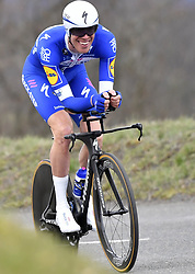 March 7, 2018 - Saint Etienne, France - SAINT-ETIENNE, FRANCE - MARCH 7 : DECLERCQ Tim  (BEL)  of Quick - Step Floors during stage 4 of the 2018 Paris - Nice cycling race, an individual time trial over 18,4 km from La Fouillouse to Saint-Etienne on March 07, 2018 in Saint-Etienne, France, 07/03/2018 (Credit Image: © Panoramic via ZUMA Press)