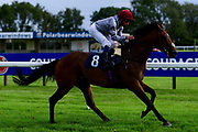 Hlaitan ridden by William Buick and trained by Hugo Palmer ridden in the Kentucky Derby On Sky Sports Racing Handicap - Mandatory by-line: Ryan Hiscott/JMP - 24/08/20 - HORSE RACING - Bath Racecourse - Bath, England - Bath Races