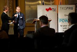Dušan Pšeničnik at Interreg Slovenia - Austria ABS-Network event organised by TikoPro, on October 2, 2018, in TU Graz, Graz, Austria. Photo by Vid Ponikvar / Sportida