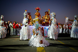 Escola Imperadores dos Samba homenageia o artista Iberê Camargo no carnaval 2020. FOTO: Anselmo Cunha / Agência Preview