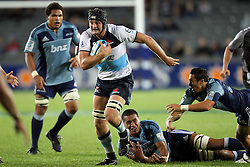 Dean Mumm. Investec Super Rugby - Blues v Waratahs, Eden Park, Auckland, New Zealand. Saturday 16 April 2011. Photo: Clay Cross / photosport.co.nz