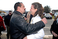 12/7/09 - 11:27:25 AM - FORTESCUE, NJ: Diana & Ken - December 7, 2009 - Fortescue, New Jersey. (Photo by William Thomas Cain/cainimages.com)