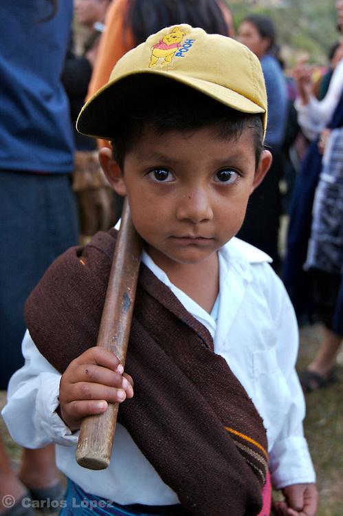 A LITTLE BOY FROM LAMUD.