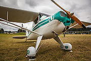 Luscombe 8A at Wings and Wheels at Oregon Aviation Historical Society.
