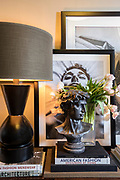 Styled detail shot inside a home. Photo by Brandon Alms Photography