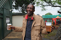 Johannesburg 14-10-18 South Africa v Zimbabwe T20I at Willowmore Park, Benoni. Mathibe Masuku drove from Rustenburg, hopeful that the game would take place. Picture: Karen Sandison/African News Agency(ANA)