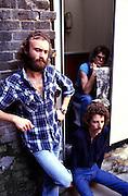 UK jazz fushion band Brand X (Phil Collins John Goodsall and Percy Jones - 1979