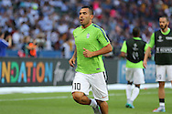 Carlos Tévez of Juventus during the Champions League Final between Juventus FC and FC Barcelona at the Olympiastadion, Berlin, Germany on 6 June 2015. Photo by Phil Duncan.