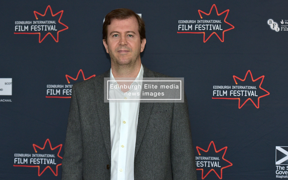 Matt Mueller (International Juror) joins the jury line up for the 2016 Edinburgh International Film Festival at  The Apex Hotel Grassmarket, Edinburgh17th June 2016, (c) Brian Anderson | Edinburgh Elite media