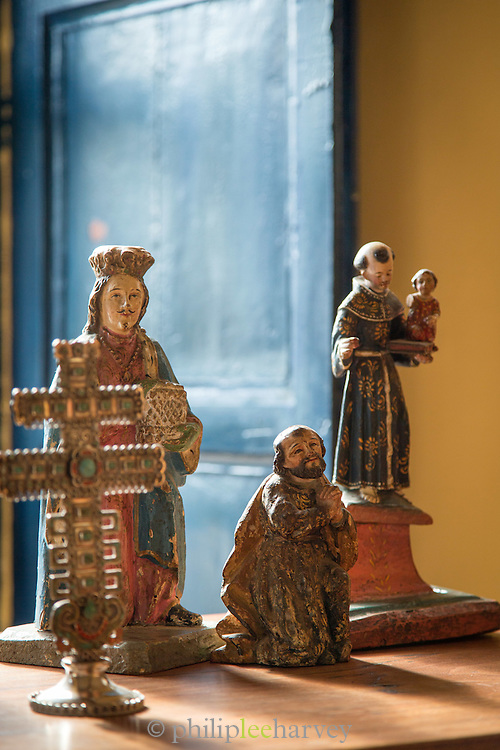 Religious artefacts, Ecuador, South America