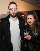 Jonathon Cawley, Skeff and Louise Creane eat@Massimo's  at The Jameson The Black Barrel Craft Series  at Old printing works, Market Street with music by Corner boy.  Photo:Andrew Downes
