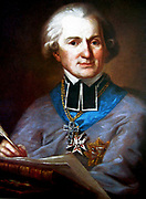Adam Naruszewicz (1733-1796) Polish nobleman,poet, historian, and Bishop of Smolensk