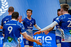 Luke Herr of Lycurgus in action during the second final league match between Amysoft Lycurgus vs. Draisma Dynamo on April 24, 2021 in Groningen.