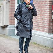 NLD/Amsterdam//20170309 - Herdenkingsdienst Guus Verstraete, Hanneke Groenteman