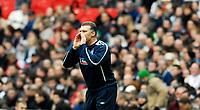 Photo: Alan Crowhurst.<br />England U21 v Italy U21. International Friendly. 24/03/2007. England acting manager Nigel Pearson.