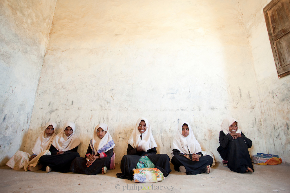 School children, Dixsam School, Dixsam, Socotra, Yemen