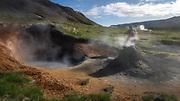Teistareykir geothermal area.