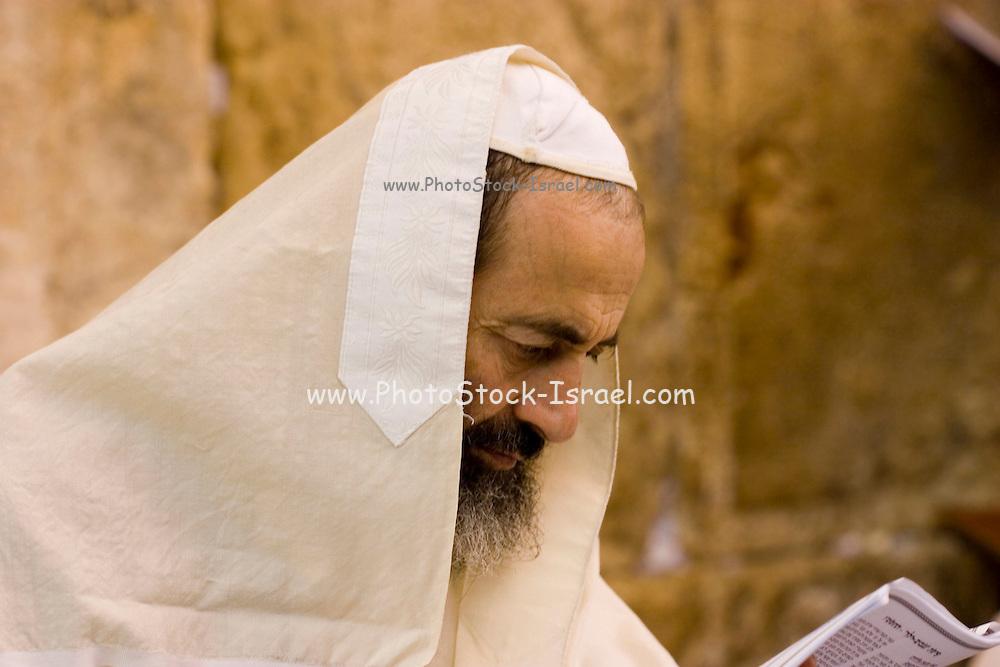 Israel, Jerusalem, Prayer in the Western Wall