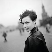 Olya on Red Square / Olya auf dem Roten Platz (1996)