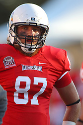 06 Sep 2014: Teddy Corwin during a non-conference NCAA football game between the Delta Devils of Mississippi Valley State and the Redbirds of Illinois State at Hancock Stadium in Normal Il