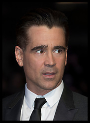 October 12, 2017 - London, London, United Kingdom - Image licensed to i-Images Picture Agency. 12/10/2017. London, United Kingdom. Colin Farrell  arriving at the Killing of a Sacred Deer premiere at the London Film Festival. Picture by Stephen Lock / i-Images (Credit Image: © Stephen Lock/i-Images via ZUMA Press)