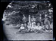 family group portrait France 1923