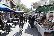 Israel, Tel Aviv, The weekly arts and crafts fair, Nachlat Binyamin street