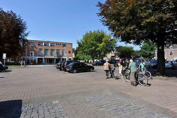 Nederland, Losser, 4-9-2012Het dorp,stadje, Losser, gemeente dinkelland, in Twente, twenthe. Het centrum van het dorp bij het raadhuisplein.Foto: Flip Franssen/Hollandse Hoogte