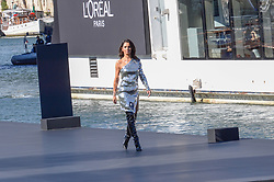 Cheryl attending the L Oreal Fashion Show in Paris, France on September 30, 2018. Photo by Julien Reynaud/APS-Medias/ABACAPRESS.COM