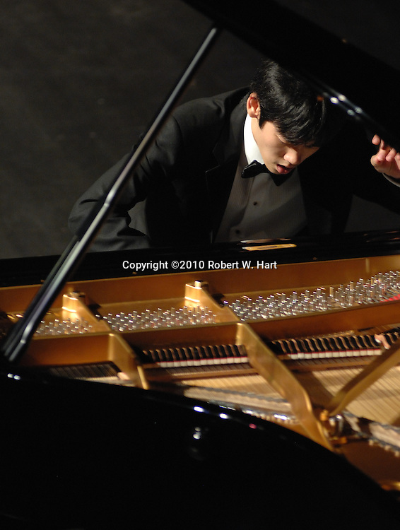 20-year-old Cliburn gold medalist, Haochen Zhang, performs Tuesday September 14, evening at the Bass Hall in Fort Worth, Texas. This was Zhang's first Fort Worth performance since his gold medal win at the 2009 Cliburn Competition.