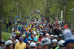Pedal on Parliament campaign mass cycle rally from the Meadows in Edinburgh to the Scottish Parliament.22nd April 2017(c) Brian Anderson | Edinburgh Elite media