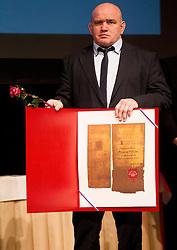 Marjan Fabjan at 48th Annual Awards of Stanko Bloudek for sports achievements in Slovenia in year 2012 on February 12, 2013 in Grand Hotel Union, Ljubljana, Slovenia. (Photo By Vid Ponikvar / Sportida)