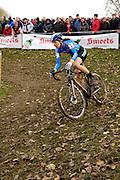 Friday 1 November 2013: Helen Wyman in action during the Koppenbergcross 2013 women's race. Copyright 2013 Peter Horrell