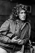 Roger Daltrey on the set of Quadophenia Brighton 1979