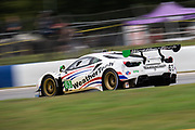 October 15-17, 2020. IMSA Weathertech Petit Le Mans: #63 Scuderia Corsa Ferrari 488 GT3, GTD: Cooper MacNeil, Jeff Westphal, Alessandro Balzan