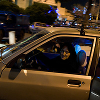 Taxi driver at Teheran airport.