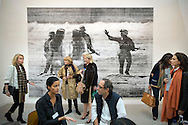 UK. London. The Frieze Art Fair in Reagent's Park.<br /> Photo shows a work by Allora & Calzadilla called 'Intermission 2007'.