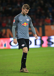 20170919, 1.BL. FCA vs RB Leipzig, 1.Bundesliga, WWK Arena Augsburg, Fussball, Sport, im Bild:...Timo Werner (RB Leipzig)..*Copyright by:  Philippe Ruiz..Postbank Muenchen.IBAN: DE91 7001 0080 0622 5428 08..Oberbrunner Strasse 2.81475 MŸnchen, .Tel: 089 745 82 22, .Mobil: 0177 29 39 408..( MAIL:  philippe_ruiz@gmx.de ) ..Homepage: www.sportpressefoto-ruiz.de. (Credit Image: © Philippe Ruiz/Xinhua via ZUMA Wire)
