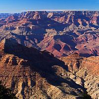 USA, Arizona, Grand Canyon. Grand Canyon View from South Rim.