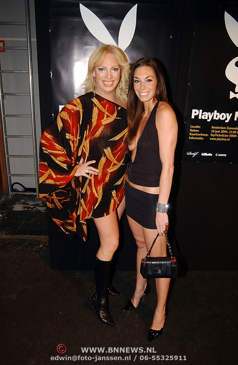 Playboy Night 2004, Mayday en Big Brother Tara