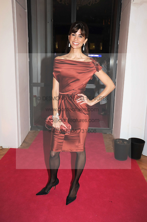 LISA BILTON at Vogue's Fantastic Fashion Fantasy Party in association with Van Cleef & Arpels to celebrate Vogue's Secret Address Book held at One Marylebone Road, London NW1 on 3rd November 2008.