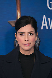 February 17, 2019 - Beverly Hills, California, U.S - Sarah Silverman on the red carpet of the 2019 Writers Guild Awards at the Beverly Hilton Hotel on Sunday February 17, 2019 in Beverly Hills, California. ARIANA RUIZ/PI (Credit Image: © Prensa Internacional via ZUMA Wire)